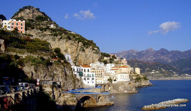 Atrani, na Costa Amalfitana