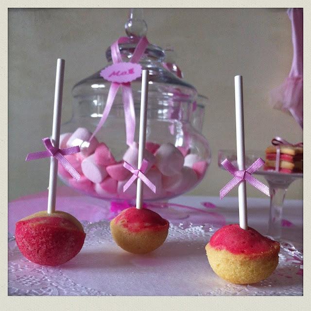 sucreries et bonbons roses