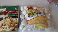 sajtszósz, gnocchi