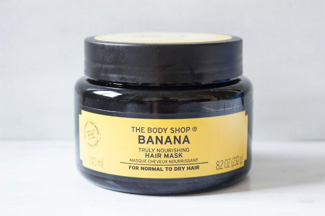 masque cheveux banane et gommage The Body Shop