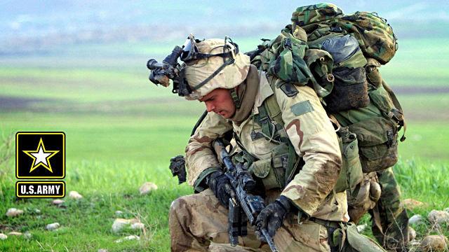 Soldat US Army - Fond d'écran en Full HD