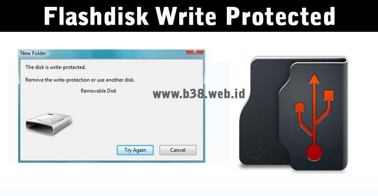 Cara Mengatasi Flashdisk Write Protected Dengan Regedit