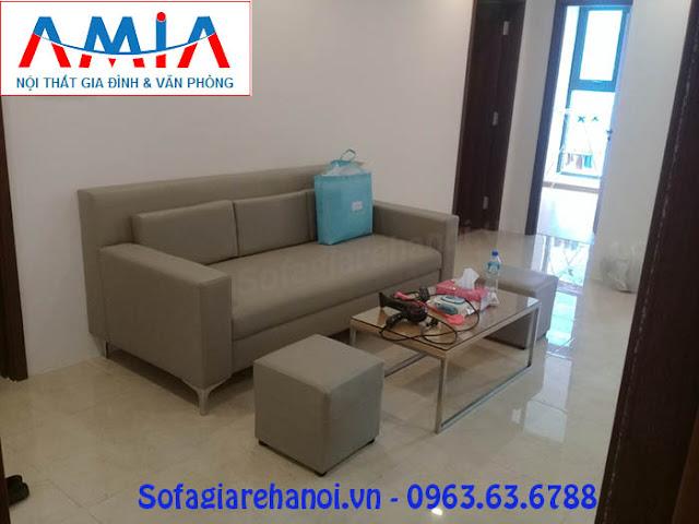 Hình ảnh cho sofa da dạng văng khi bài trí trong không gian đẹp hiện đại gia đình bạn
