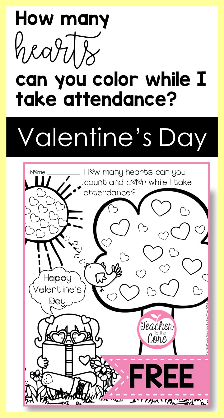 This Valentine's Day Post is filled with free downloads and tips form Katie Knight at Teacher to the Core