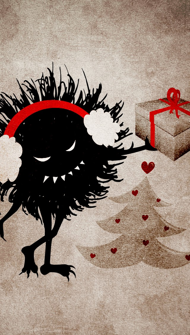 My Grinning Mind: Merry Christmas And Evil Bug Wallpapers
