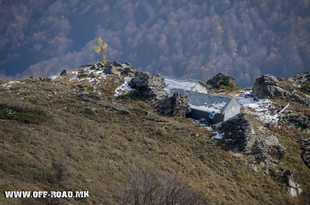Поглед од врвот Вртешка 2010 м во близина на село Маловиште