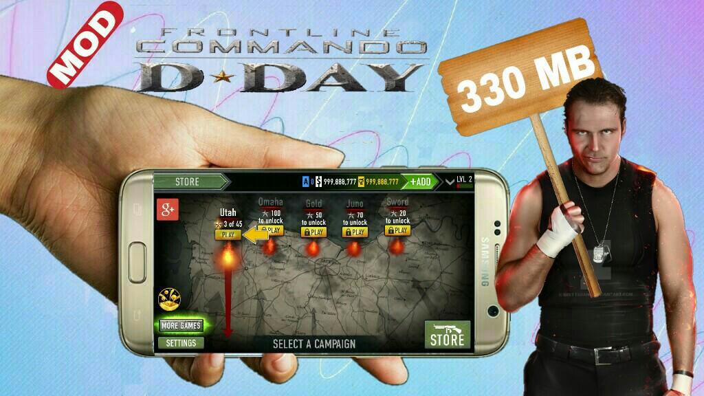 fl commando d day mod apk download