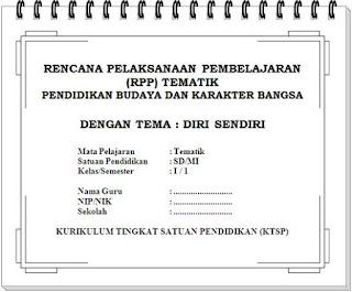 RPP Tematik SD Kelas 1 lengkap untuk semester 1 dan 2