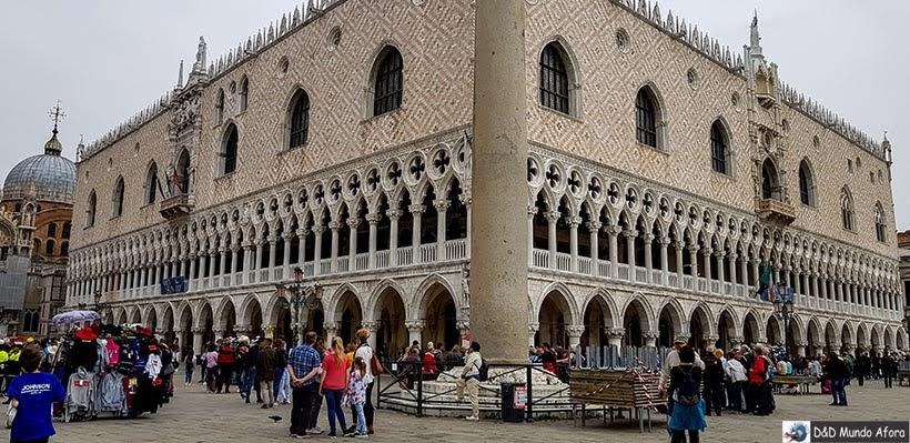 Palácio Ducal - O que fazer em Veneza