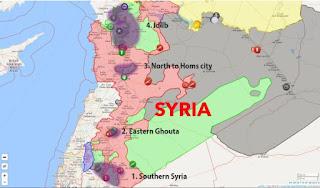"""""""opération de reconnaissance"""" à Idleb en Syrie"""
