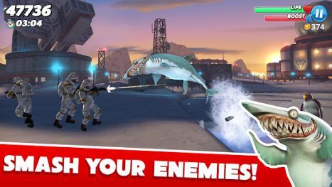 تحميل لعبة Hungry Shark World V1.2.4 مهكرة باخر اصدار