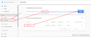 Wajib Bagi Pemula Cara Submit Sitemap Blog Ke Webmaster Tools Console Terbaru