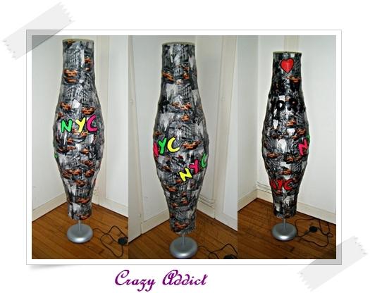 Diy Reparer Une Lampe Dechiree Crazy Addict