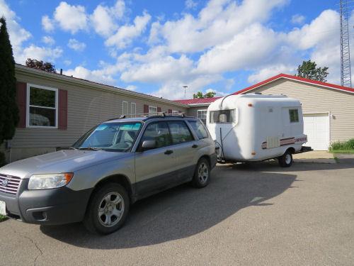 Companion travel trailer