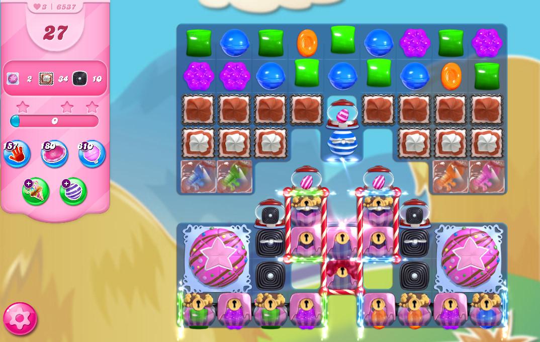 Candy Crush Saga level 6537