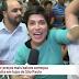Repórter da Globo News fica no meio de briga por TV na Black Friday