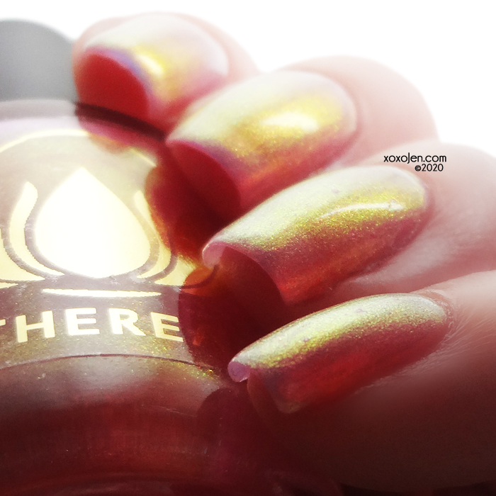 xoxoJen's swatch of Ethereal Guava