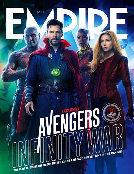 Avengers: Infinity War Drax - Doctor Strange - Okoye - Scarlet Witch