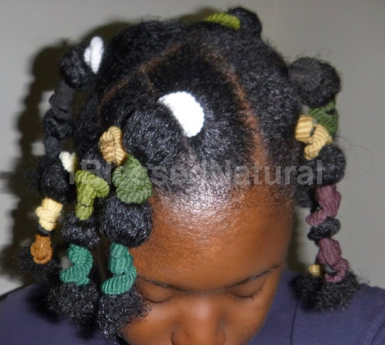 Using Fabric Bands To Stretch Natural Hair