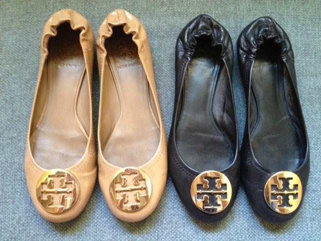 0a0533471644 Pretty.Random.Things.  Shoe Review  TORY BURCH Reva ballet flats