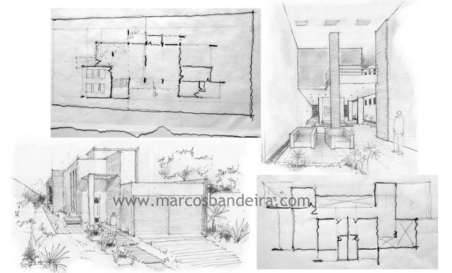 Dica sketchup projeto residencial for Casa moderna sketchup download
