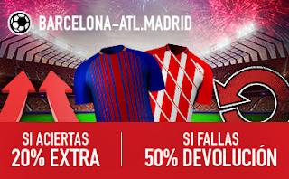 sportium promocion Barcelona vs Real Madrid 6 mayo