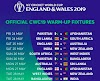 ICC Cricket World Cup 2019 Warm up Matches Schedule