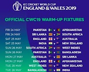 ICC Cricket World Cup 2019 Warm up Matches