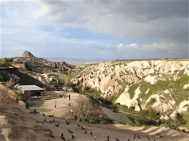 valle dei piccioni arrivo a Uçhisar