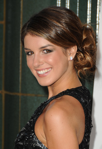 Shenae Grimes with Tragus Piercing