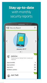 Sacnner antivirus ESET Smart Security