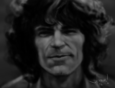 BJ Thomas Photo Study by Arizona Artist Jephyr