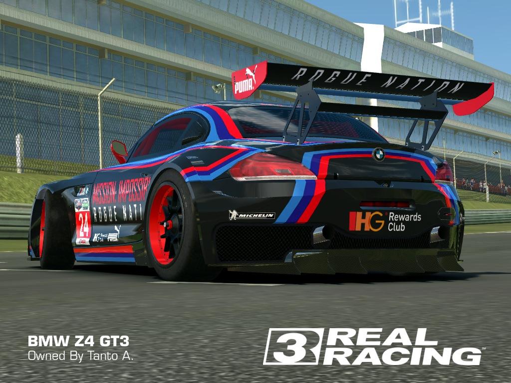 REAL RACING 3 SKIN: 2010_bmw_z4_gt3-MI ROQUE NATION - BMW Z4 GT3 ...
