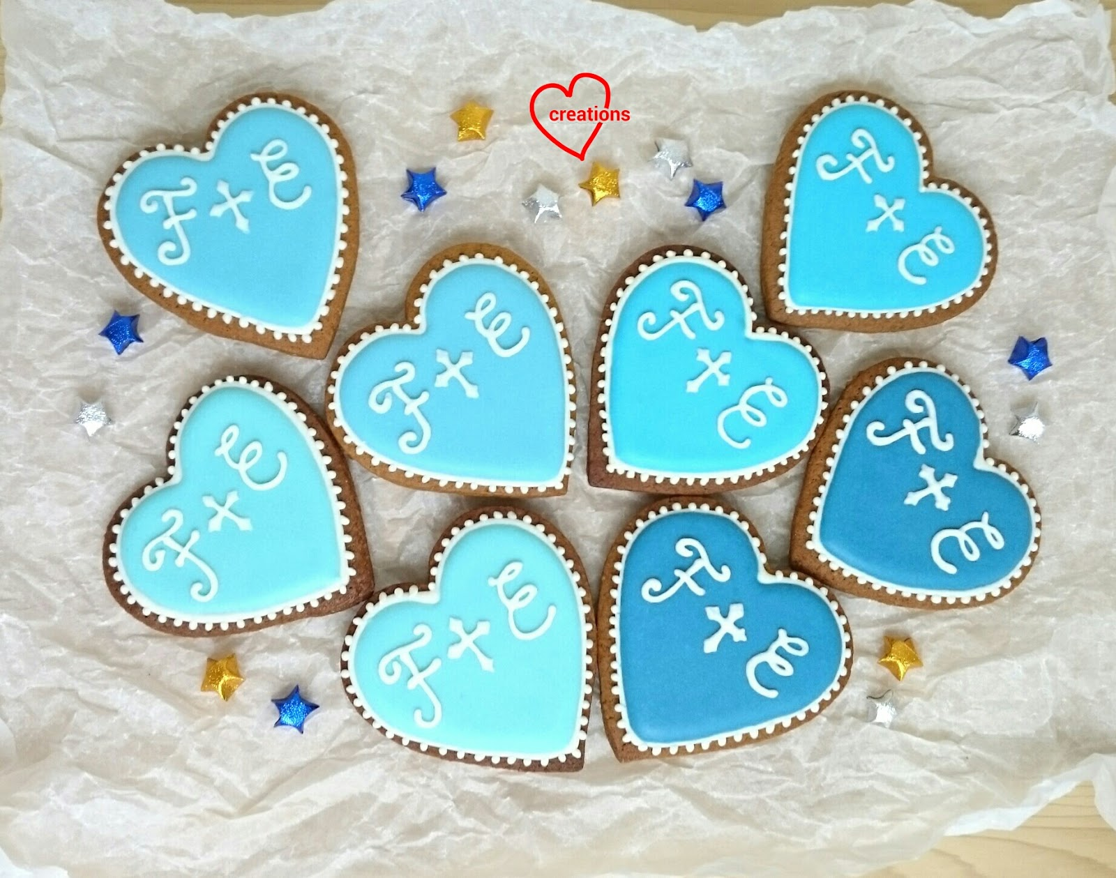 Loving Creations for You: Wedding Brown Sugar Cookies