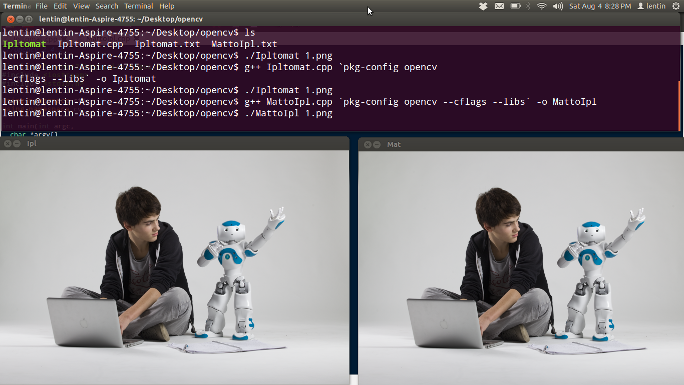 TechnoLabsz: How to convert opencv IplImage to cv::Mat and