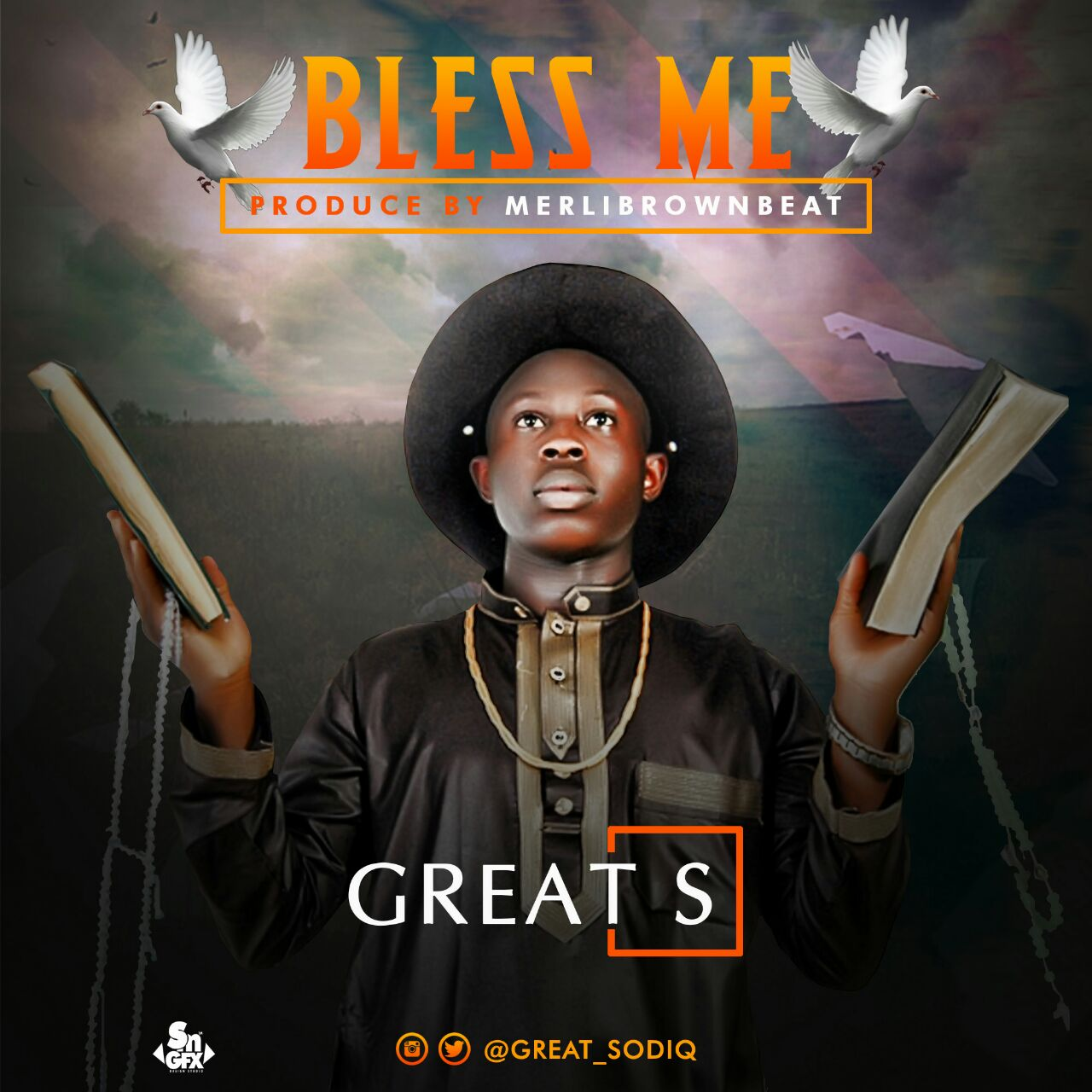 NEW JAM!  BLESS ME BY GREAT-S @great_sodiq