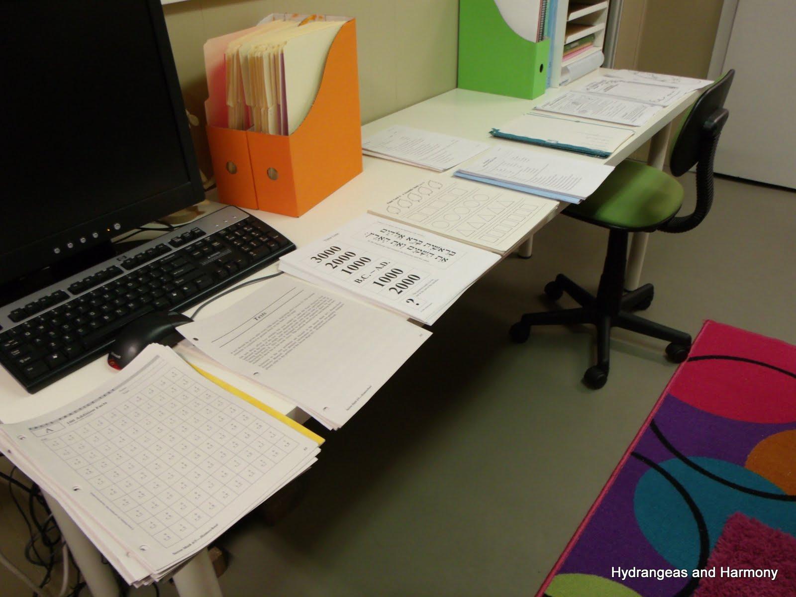 Hydrangeas And Harmony Planning Our Homeschool Year