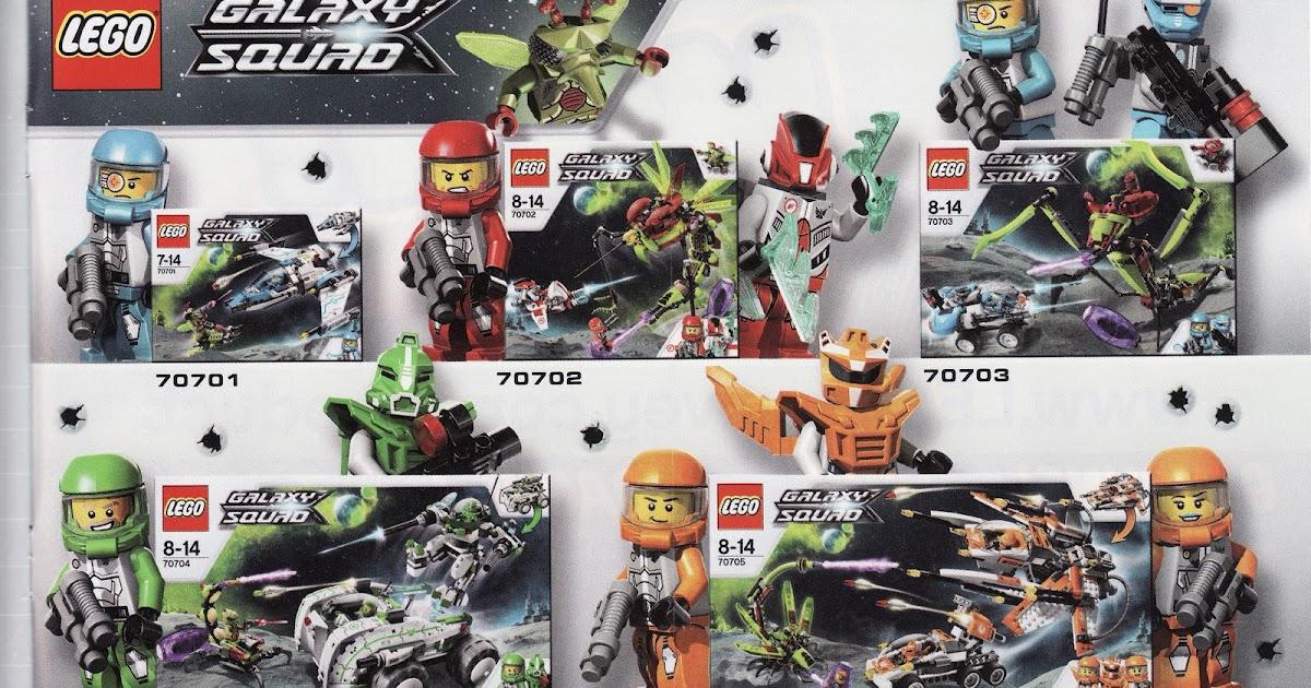 Moje Klocki Lego Lego Galaxy Squad