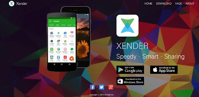 xender لنقل ومشاركة الملفات بين الأندرويد والآيفون والكمبيوتر دون كابل أو روت