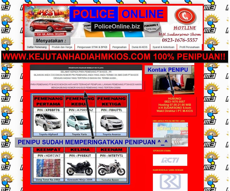 www.kejutanhadiahmkios.com 100% PENIPUAN