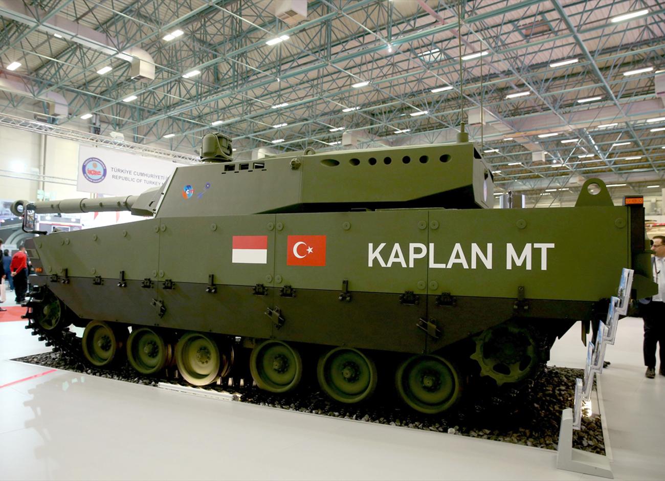 Kaplan MT Pindad FNSS