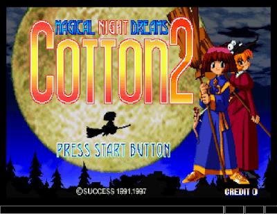 【SS】棉花小魔女2(Cotton 2),美少女題材射擊遊戲!