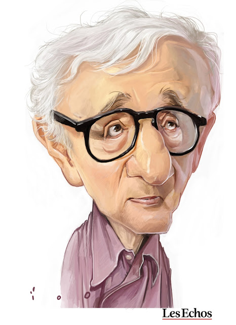 woody allen caricature