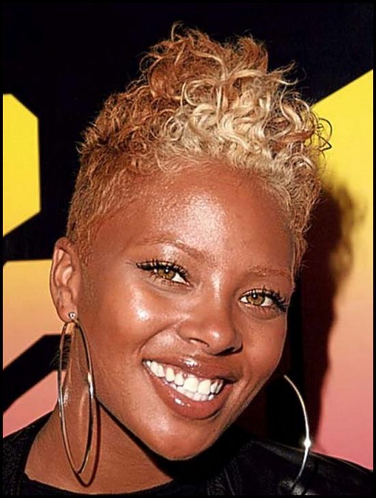 Astounding 60 Short Curly Hairstyles For Black Woman Stylishwife Short Hairstyles Gunalazisus
