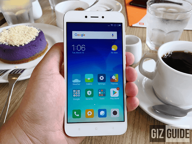 Xiaomi Redmi 5A with PHP 300 cash back now available at Lazada!