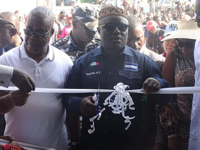 JUST IN: GOV BEN AYADE COMMISSIONS CRS TOOTH PICK FACTORY IN EKORI.
