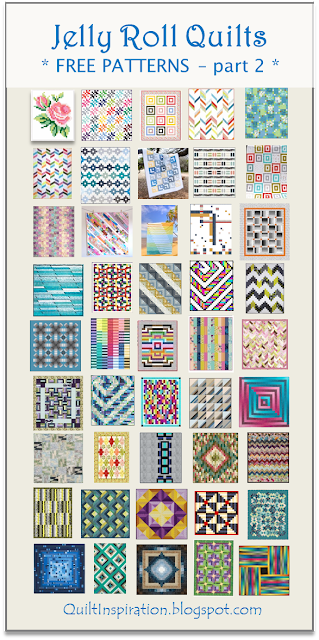 Quilt Inspiration Free Pattern Day Jelly Roll Quilts Part 2 Of 2