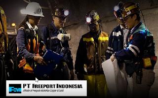 Lowongan Kerja Terbaru Pertambangan PT Freeport Indonesia