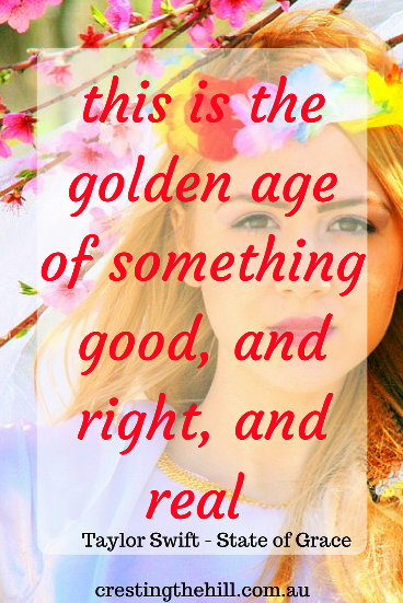 midlife - this is the golden age of something good and right and real