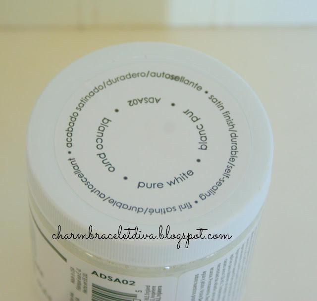 Decoart Americana Decor Pure White jar paint